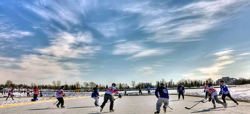 Pickup Hockey