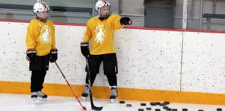 minor hockey practice