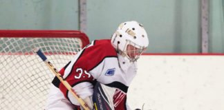 goalie glove position