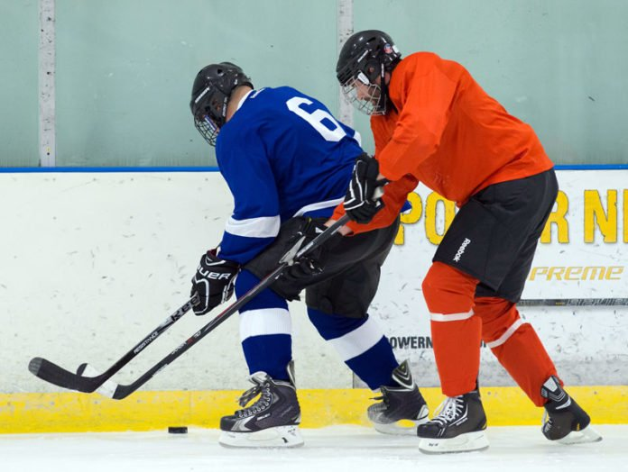 pressure the puck