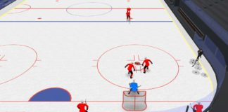 low race 2-on-1 hockey drill